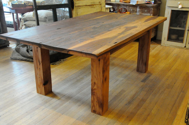 Reclaimed barnwood custom furniture timber ridge salvage Furniture made from barn wood